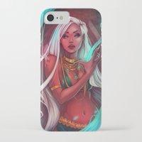 siren iPhone & iPod Cases featuring Siren by Ellen Su