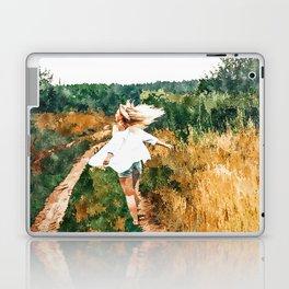 Free Spirit || #painting #nature Laptop & iPad Skin