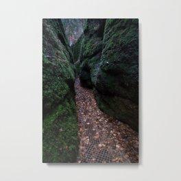 Drachenschlucht Gorge Metal Print