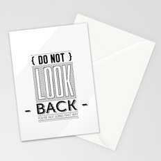 Do Not look back... Stationery Cards