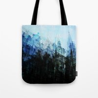 brussels Tote Bags featuring Brussels 2 by Mina & Jon