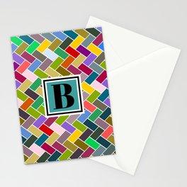 B Monogram Stationery Cards