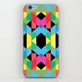 Hipster Geometry iPhone Skin