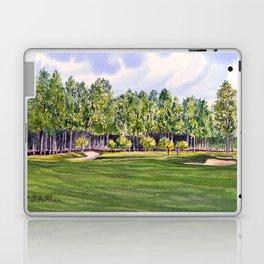 Pinehurst Golf Course No2 Hole 17 Laptop & iPad Skin