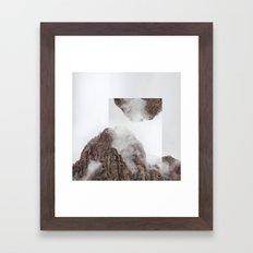 Vis-à-vis Framed Art Print