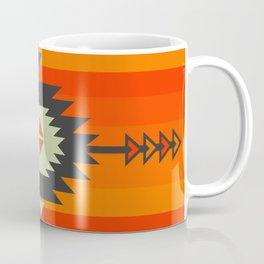 Southwestern in orange and red Coffee Mug