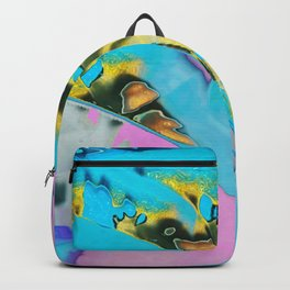 Pastel Gold Drip Backpack