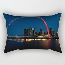 The Millennium Bridge Rectangular Pillow