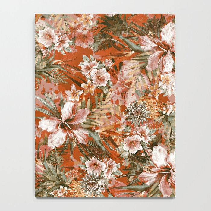 Tropical Orange Notebook