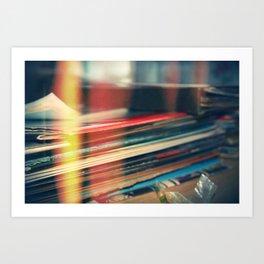 LEAKED. Art Print