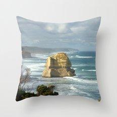 Gigantic Rock Stacks Throw Pillow