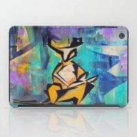 kangaroo iPad Cases featuring KANGAROO by Matt Schiermeier