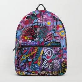 """""""racing thoughts"""" Backpack"""
