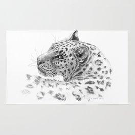 Leopard - Glance back Rug