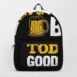 Good Mood Beer T-shirt Gift Party Backpack