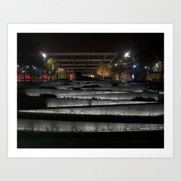 Stairway of Lights Art Print