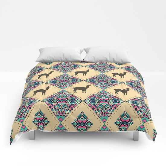 Andes pattern Comforters