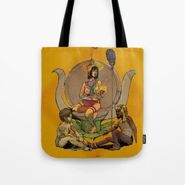 Isis - Egyptian Goddess, Mother to Horus and Patron to Artists and the Imprisoned Tote Bag