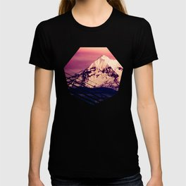 Mt Hood Mountain with Snow T-shirt