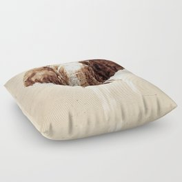 "Glue Network Print Series ""Environment & Animals"" Floor Pillow"