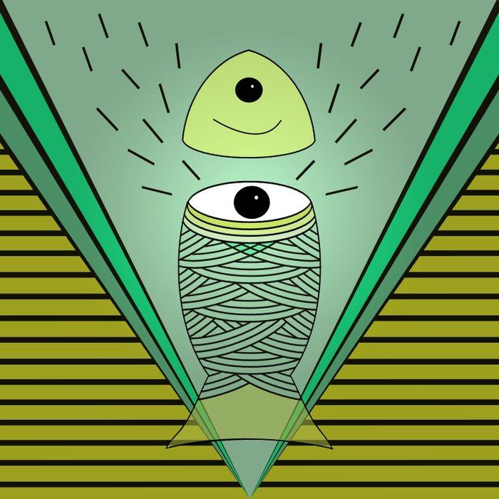 ins-eye-d Duvet Cover