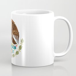 Mexico Coat of Arms - Flag of Mexico Coffee Mug