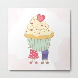 I Cupcake You. Metal Print