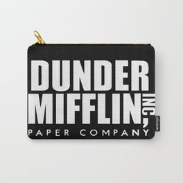 The Office Dunder Miflin Carry-All Pouch
