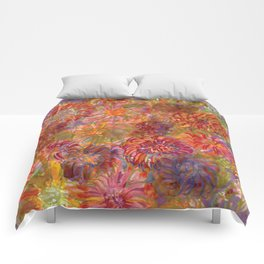 Fall Fireworks Comforters