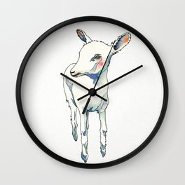 Little goat Wall Clock