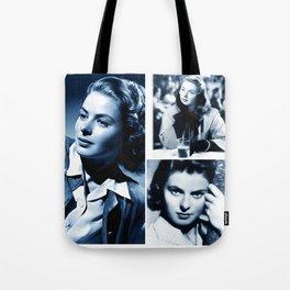 Ingrid - Ladies and Gentlemen, Ingrid Bergman Tote Bag