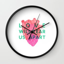 Love will tear us apart Wall Clock