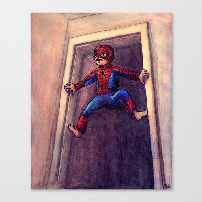 Little Spidey Canvas Print