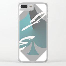 JE Art Logo Clear iPhone Case