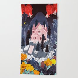 Coraline Beach Towel