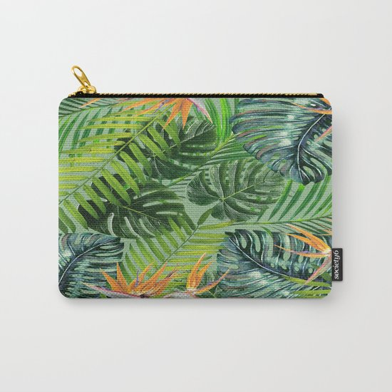 Jungle Tangle Paradise Carry-All Pouch