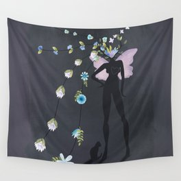 love makes you grow Wall Tapestry