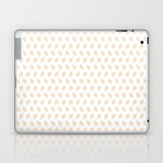 rhombus bomb in linen Laptop & iPad Skin