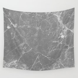 Grey Marble Wall Tapestry