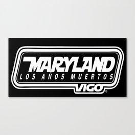 MarylandVigo Maryland - Los Años Muertos Canvas Print