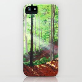 Sunshine Forest iPhone Case