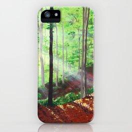 Sunshine Forest iPhone Case