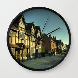 Shaky's House Wall Clock