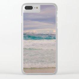 Punta Cana Ocean Clear iPhone Case