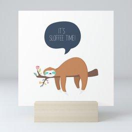 It's Sloffee Time! Mini Art Print