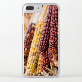 Indian Corn 6 Clear iPhone Case