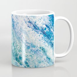 Tides  - Abstract fluid painting Coffee Mug
