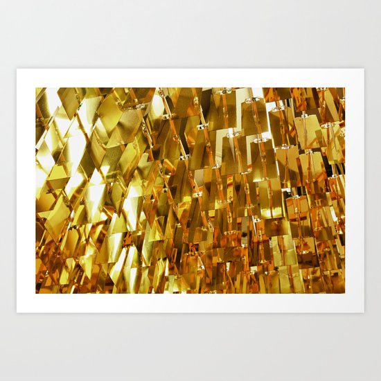 Golden Sky Art Print