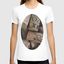 Wine corks T-shirt