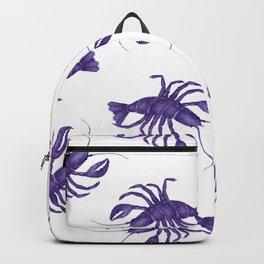 Le Lobster Bleu Backpack